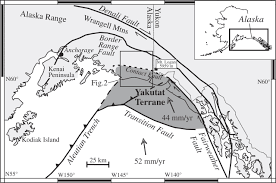 Southeast Alaska Map by Rapid Exhumation Of Ice Covered Rocks Of The Chugach U2013st Elias