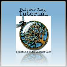 polymer clay tutorial jewelry tutorial how to paint with liquid polymer clay