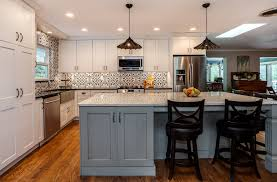 grey kitchen cabinets with white countertop white kitchens are almost always jm kitchen and