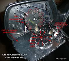 1993 Jeep Grand Cherokee Fuse Box Diagram Jeep Grand Cherokee Wk Side Mirror Glass Replacement