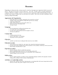 Resume Skills Section Examples by Resume Section Order Claims Specialist Resume