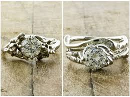 ethical engagement rings diamond engagement rings with organic recycled white gold settings