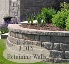 3 diy retaining walls all natural u0026 good