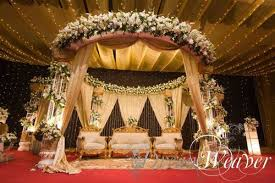 Bengali Mandap Decorations Bangladeshi Bridal Grand Reception Pinterest Stage