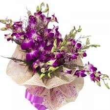 Purple Orchids Stunning Purple Orchid Flower Bouquet Orchids Flowers By Types