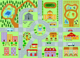 La Zoo Map Map Clipart Community Place Pencil And In Color Map Clipart