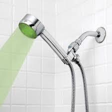 Bathroom Shower Head Ideas Colors Healthsmart Lumatemp Led Color Changing Shower Head The Green Head