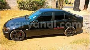 altezza car black buy used toyota altezza black car in chipata in zambia caryandi