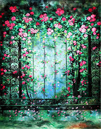 photo booth background aliexpress buy green forest flowers backdrops for