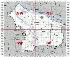 map of oregon portland zoning quarter section maps the city of portland oregon