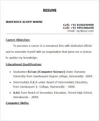 resume format for freshers bcom pdf editor 28 free fresher resume templates free premium templates