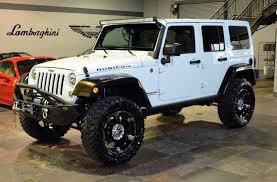 2014 jeep wrangler rubicon white 20 xd wheels 35 in toyo 3 5