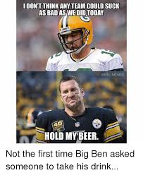 Steelers Suck Meme - dont think any team could suck as bad as we did packers memes