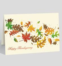 thanksgiving branches card 300369 business cards