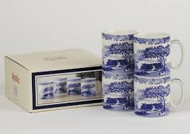 spode blue italian coffee or tea mugs 4 58 5 you save 31 50