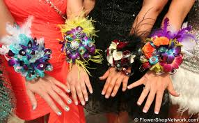 homecoming corsage prom inspiration funky style
