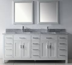 60 Bathroom Vanity Double Sink White by Fantastic White Double Vanity Abbey 60 Bath Vanity Contemporary