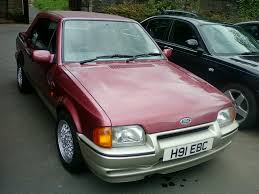 90 Ford Escort 1990 Ford Escort Xr3i Convertible Not An Original Car By A U2026 Flickr