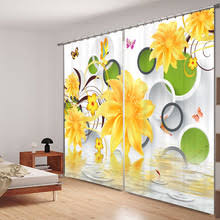 buy yellow curtain panels and get free shipping on aliexpress com