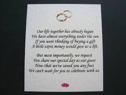 where to register for wedding gifts donot want a wedding gift poem lading for