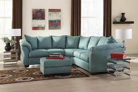 Living Room Design By Size Signature Design By Ashley Darcy Sky Contemporary Sectional Sofa
