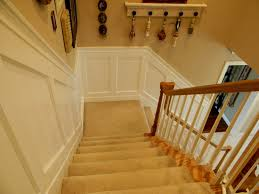 Up The Stairs Wall Decor Oak Wainscoting Ideas House Design And Office Best Oak