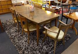 heywood wakefield cadence dining set in the sable finish yelp