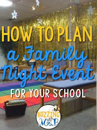 family nights are a great way to bring in the community get your