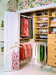multicolor accent closet organzing ideas for woman with slim