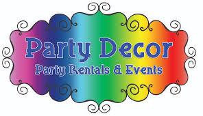 party rentals az party decor peoria az 85345