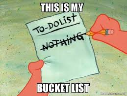Meme Bucket - this is my bucket list to do list make a meme