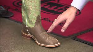 getting the right fit in justin boots youtube