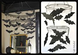 Pottery Barn Kids Chandeliers Diy Halloween Bat Chandelier Tutorial Crafts Unleashed