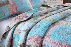 Ocean Bedspread Amazon Com Lelva Ocean Bedding Set Seashells Beach Theme