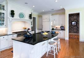 Kitchen White Cabinets Black Countertops 20 Awesome White Kitchen Cabinets For Your Living Home