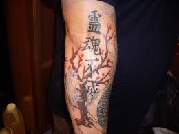 cherry blossom tree sleeve abstract design idea for and