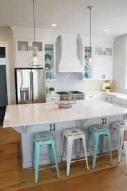 Kitchen Distressed Turquoise Kitchen Cabinets Home Design Ideas Best 25 Bright Kitchen Colors Ideas On Pinterest Bright