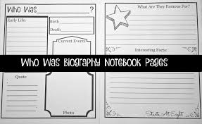 using the who was series biographies for homeschool history with