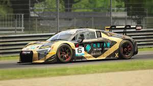 Audi R8 Gold - china gt championship 2017 phoenix racing asia 6 audi r8 lms