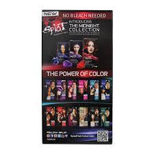 splat berry blast rebellious color kit semi permanent hair dye