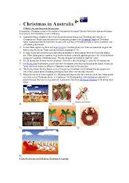 australian christmas worksheets free christmas around the world
