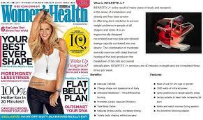 Magazine Usa Women U0027s Health Usa Your Best Shape With Infrafitx