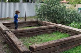 Railway Sleepers Garden Ideas Doit Yourself Front Garden Ideas Sleepers