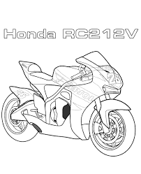 motorbikes coloring 9 print color free