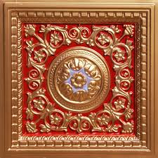 Ornate Ceiling Tiles by Red Ceiling Tiles Decorative Ceiling Tiles Tin U0026 Faux Tin