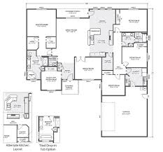 House Plans Rambler 28 Rambler Floor Plan Windham Hill East True Built Home