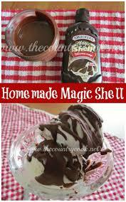 tasty homemade magic shell recipes on pinterest cream tops