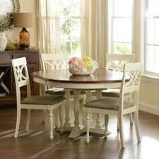 Round Kitchen Table W  Chairs  Willow Grove PA Love - Branchville white round dining room furniture