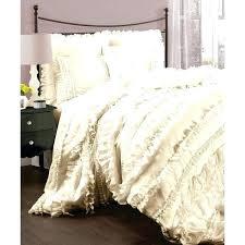 Twin White Comforter Set Ruffle Duvet Covers Twin U2013 De Arrest Me