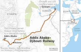 Djibouti Map China Says It Built A Railway In Africa Out Of Altruism But It U0027s